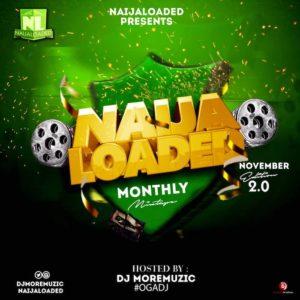 Naijaloaded x Dj MoreMuzic - NL Mixtape [Nov. Edition]
