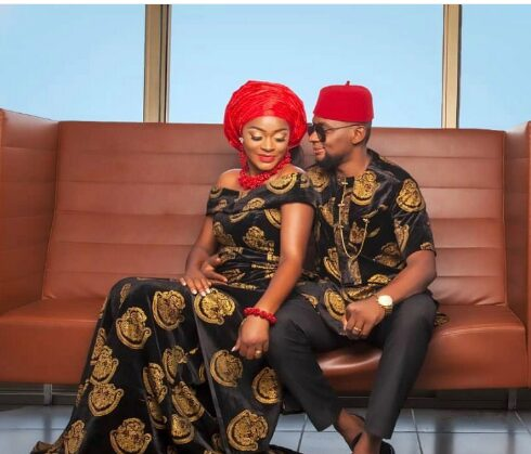 Months After Announcing Collapse of Marriage, Actress Chacha Eke Celebrates husband's Birthday.