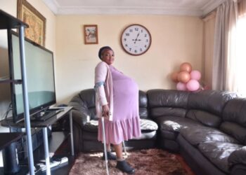 Wonder! South african Lady Give birth to 10 Babies at once (Photos)