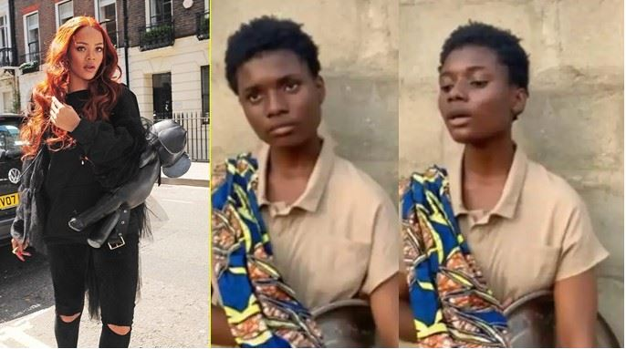 Rihanna Reaches Out To 17-Year-Old Nigerian Hawker for her angelic voice