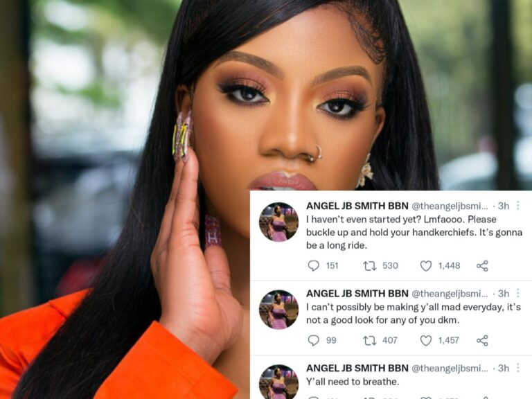 VIDEO: BBNaija Angel Clashes with Davido Fans over this